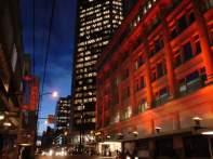 Vancouver à noite