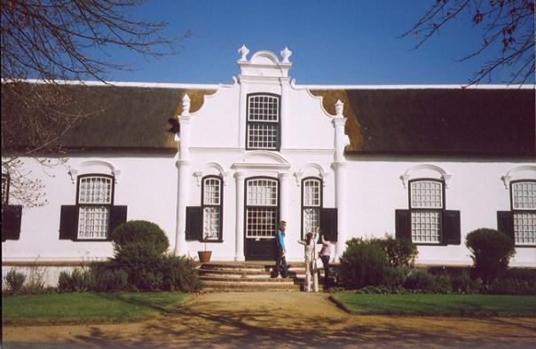 Vinícola na África do Sul