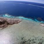 Vista aérea de Abrolhos