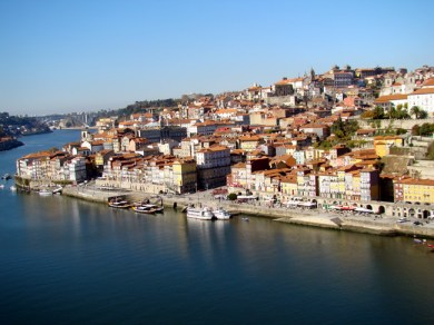 Porto visto da Ponte Dom Luis
