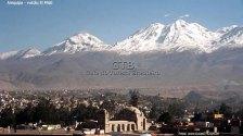 Vulcão El Misti em Arequipa, Peru