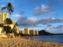 Praia de Waikiki, Havaí, EUA
