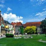 Wawel, vista interna, Cracóvia, Polônia