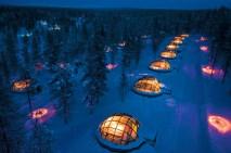 Aldeia de iglus, Finlândia