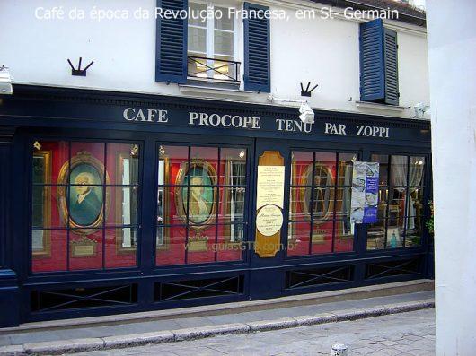 Café Procope, o mais antigo de Paris