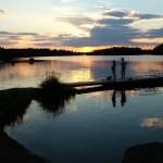 Sol da meia noite, Finlândia