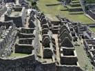 Área residencial em Machu Picchu, Peru