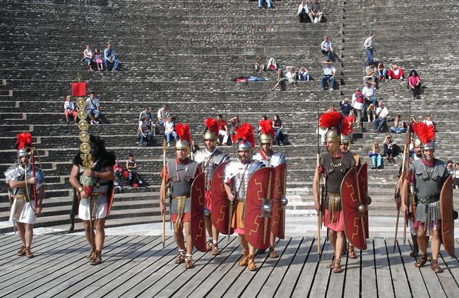 Anfiteatro romano de Lyon, França