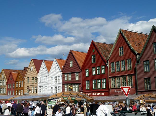 Antigo porto, Bergen