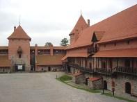 Castelo de Trakai, na Lituânia