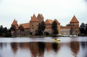 Lituânia, castelo de Trakai