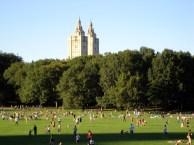 Verão no Central Park em New York