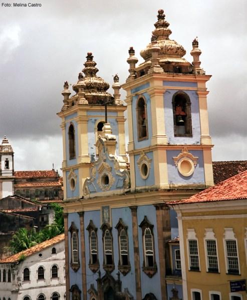 Centro histórico barro de Salvador