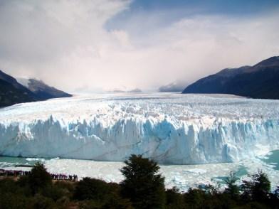 Glaciar Perito Moreno, Argentina visto do belvedere