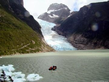 Glaciar Serrano, próximo a Puerto Natales, Patagônia, Chile