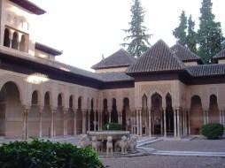Pátio no Alhambra, Granada