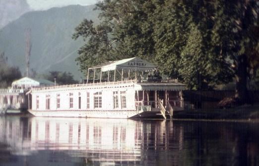 House-boat, Cachemira, Índia