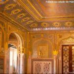 Castelo em Mandawa, Rajastão, Índia