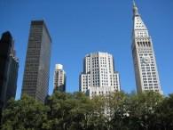 Arranha-céus em Manhattan, Nova York