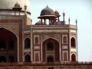 O estilo mogol no Red Forte de Delhi