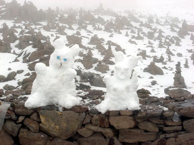 Bonecos de Neve, Vale do Colca, Peru