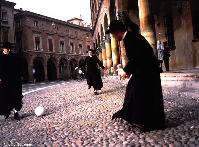 Padres, divertindo-se em Bologna