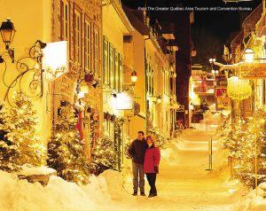 Québec, Canadá, durante o inverno