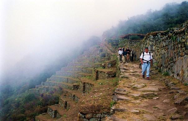 Trilha Inca, Wiñy Wayna Foto Alberto - CCBY