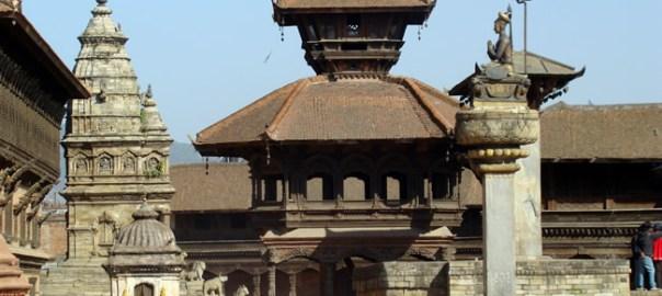 Bhaktapur, no Vale de Katmandu, Nepal