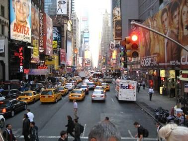 Broadway, em Manhattan, New York, USA