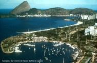 Cidade do Rio de Janeiro, vista da baía de Guanabara