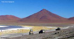 Expedição ao Salar de Uyuni no altiplano