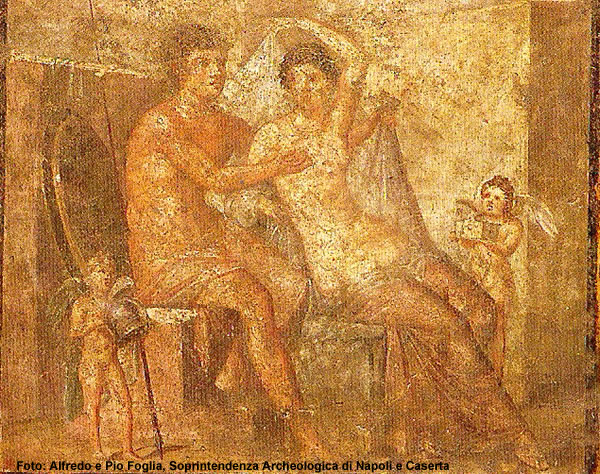 Marte e Venus, Museu Arqueológico de Nápoles