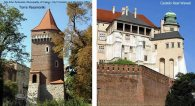 Torre Pasamonki e Castelo de Wawel, Cracóvia, Polônia
