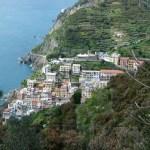 Aldeia em Cinque Terre, Riviera Italiana