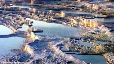 Formações calcáreas, Pamukkale, Turquia