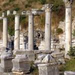 Hierápolis, próximo a Pamukkale, Turquia