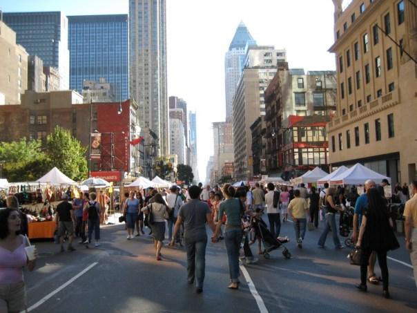 New York, cidade dos eventos