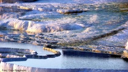 Pamukkale, Turquia, piscinas naturais