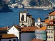 Vila Nova de Gaia onde são estocados os vinhos do Porto