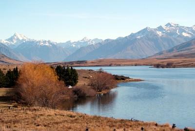 Balonismo na Nova Zelândia, Ilha do Sul