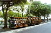 Bondinho em Santos