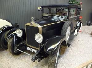 Carro antigo, década de 1930, Museu de l'Automobile de Reims, França