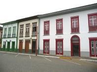 Construções coloniais em São Luiz do Paraitinga SP