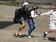 Atibaia, paraglider, prontos para voar