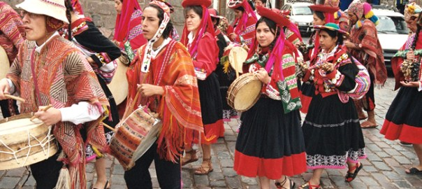 Festa típica em Cusco, Peru