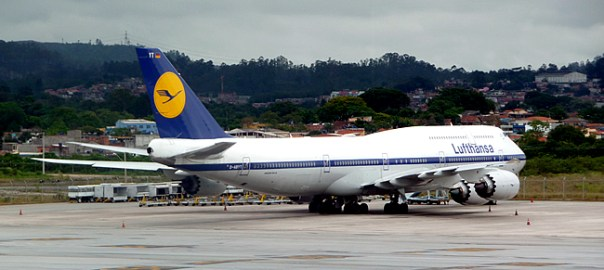 Avião da Lufthansa