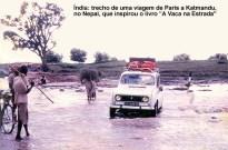 Índia, viagem de carro de Paris a Katmandu, no Nepal
