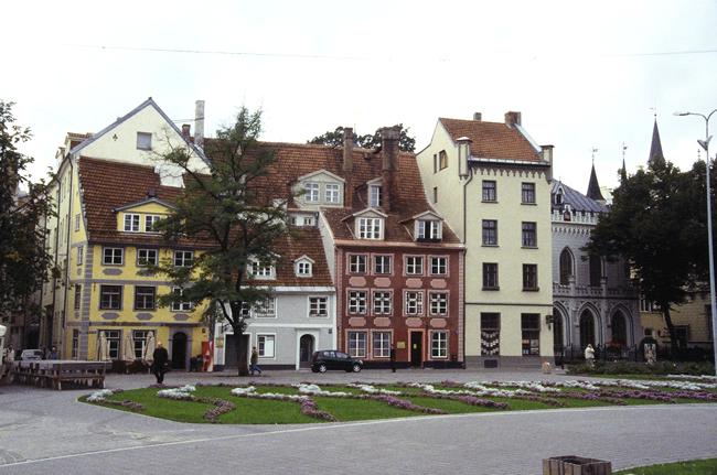 Casas típicas, Riga, Letônia