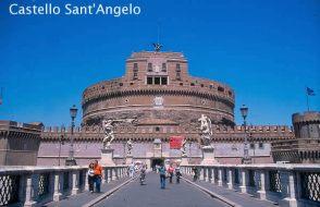 Castelo Sant'Angelo, Roma, medieval